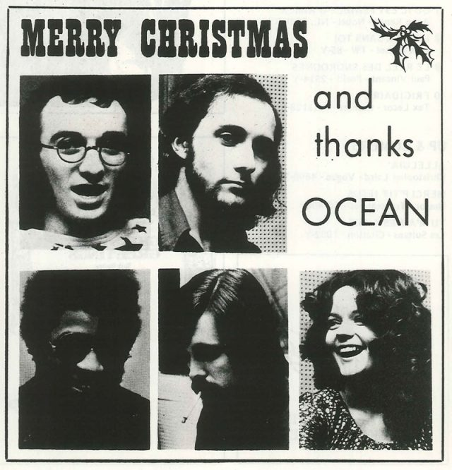 Merry Christmas and thanks Ocean