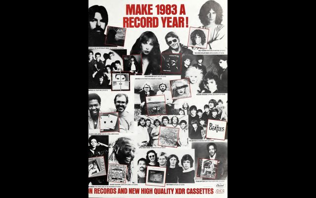 Make 1983 A Record Year!' advert