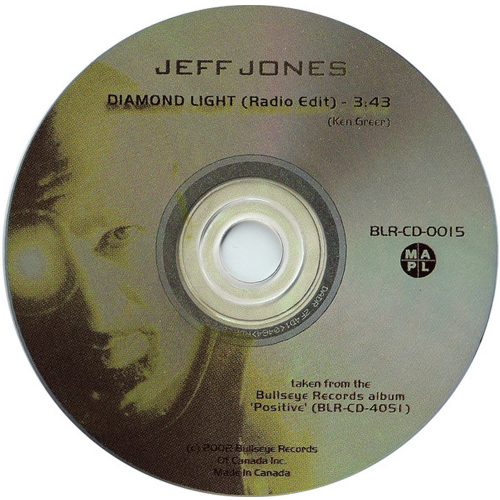 Diamond Light - Jeff Jones