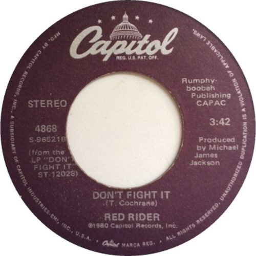 Don't Fight it - Red Rider