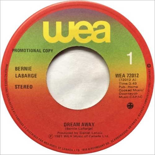 Dream Away - Bernie LaBarge