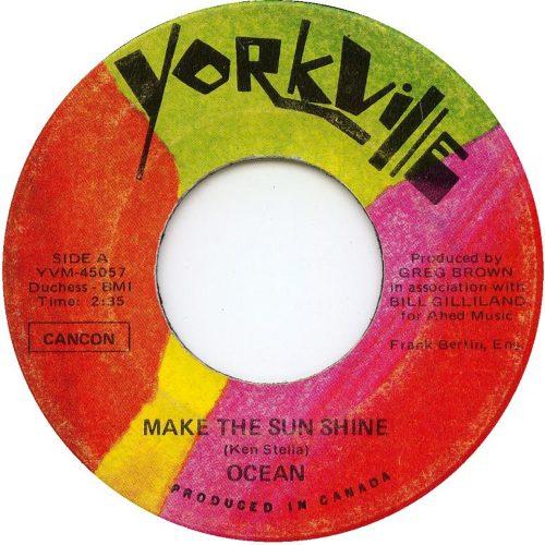 Make The Sun Shine - Ocean