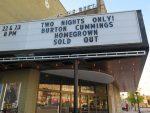 Burton Cummings Theatre – Winnipeg (Sep 22 2017)