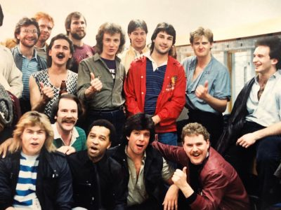 Red Rider with Edmonton Oilers 1983